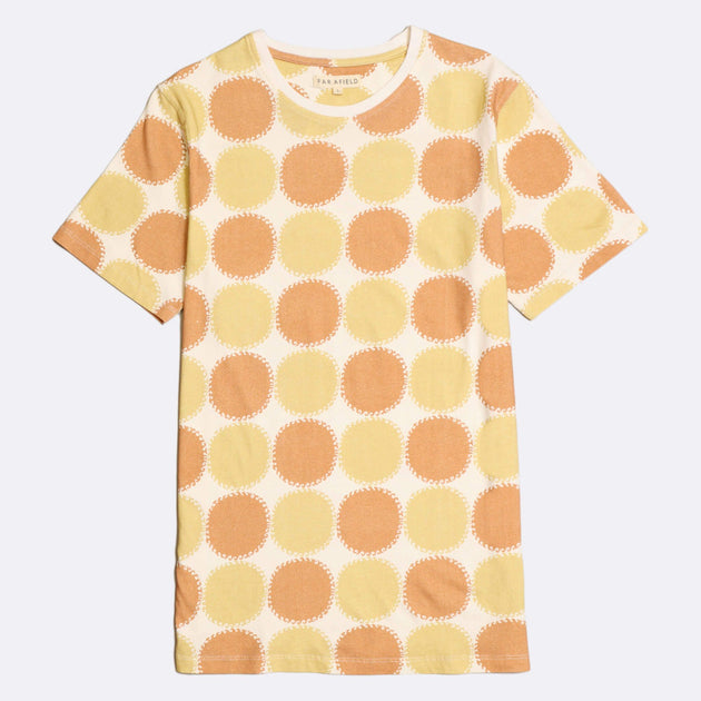 Blazing Heat Printed T-Shirt - Toasted Orange