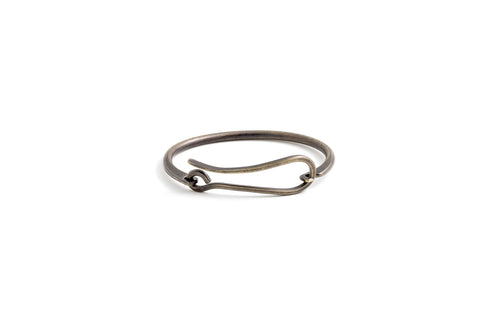 Hook Bracelet - Brass Patina
