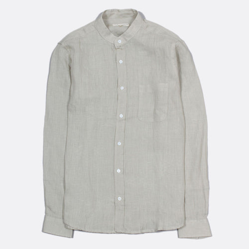 Twombly Long Sleeve Linen - Agate Grey