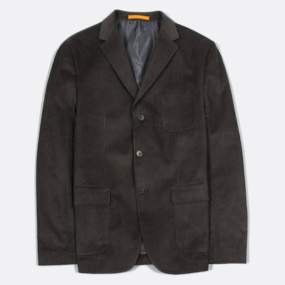 Denver Corduroy Blazer - Peat Green