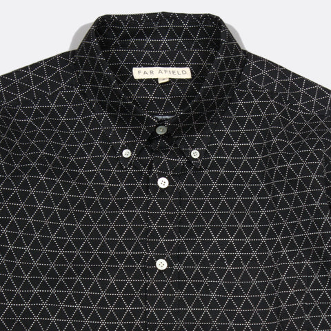 Mod Long Sleeve Button Up - Peaks