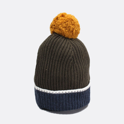 Noddy Bobble Beanie - Gold