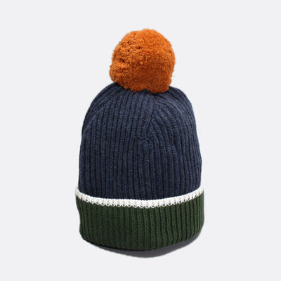 Noddy Bobble Beanie - Autumnal