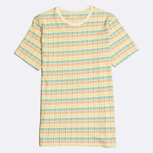 Puebla Stripe Printed T-Shirt