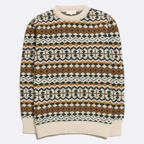 Fair Isle Knit - Multi Colour