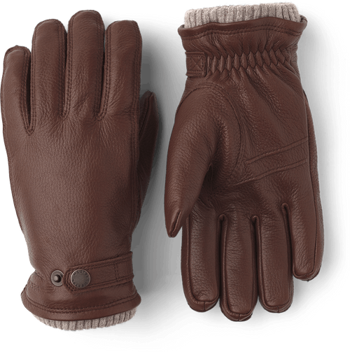 Elk Utsjo Gloves - Chestnut