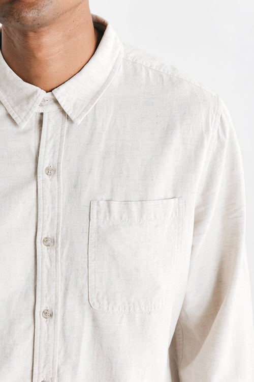 Jude Button Up - Natural