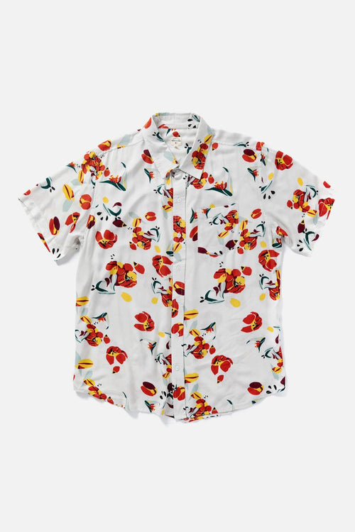 Harbor Tulip Short Sleeve Button-Up Shirt