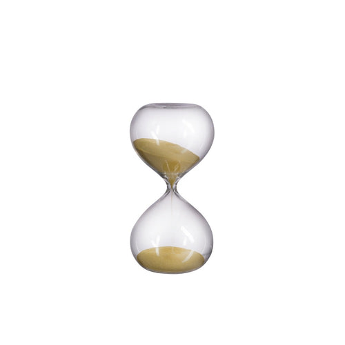 Small Hourglass (30 minutes) - Gold