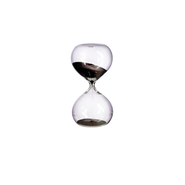 Small Hourglass (30 minutes) - Black