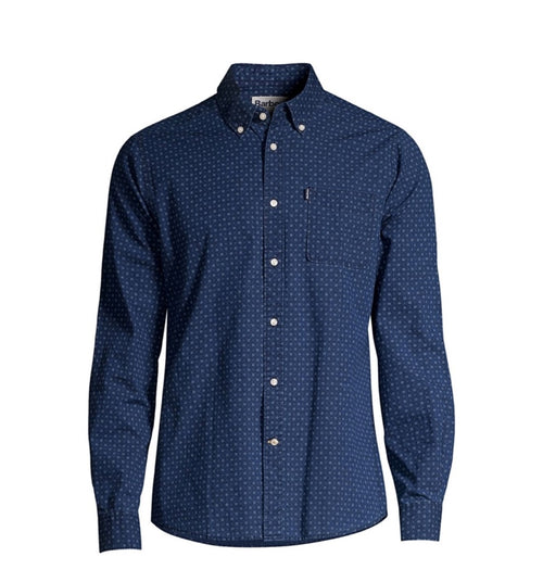 Tailored Indigo Long Sleeve Button Up - Indigo