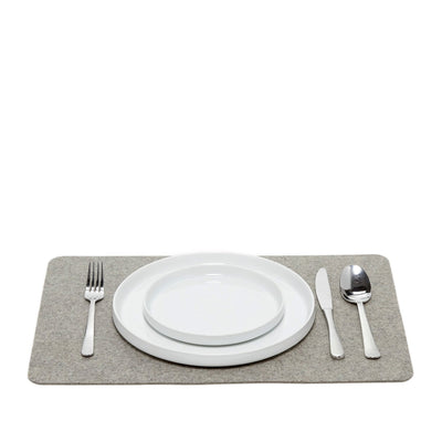 Felt Placemat, Rectangular - Granite