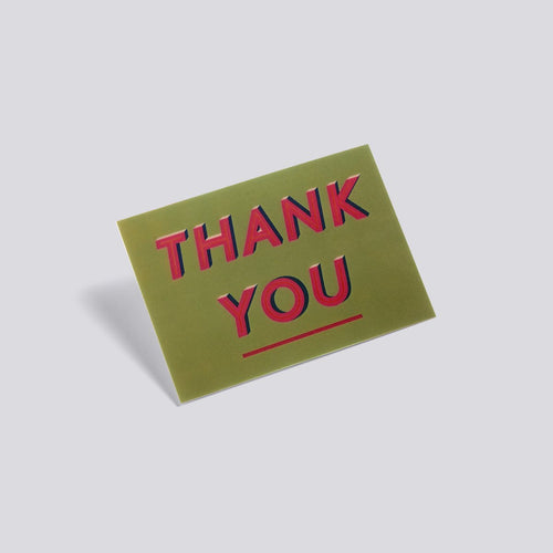 3D Postcard - Thank You