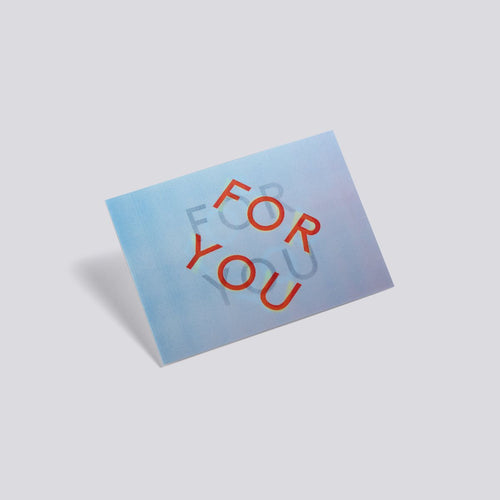 3D Postcard - For You