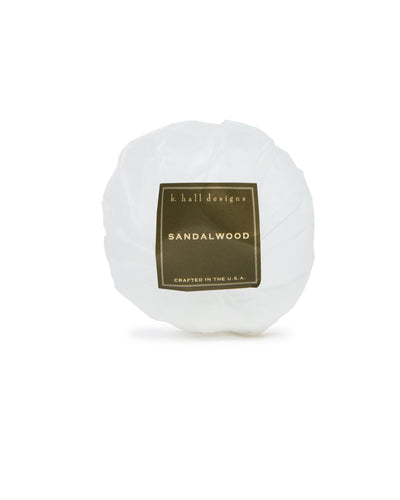 Sandalwood Bath Bomb, 3.5oz