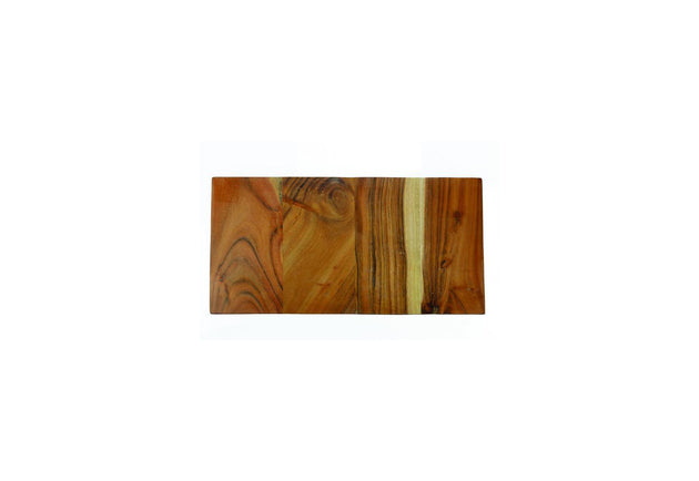 Reversible Rectangular Board, Small - Marble/Mango
