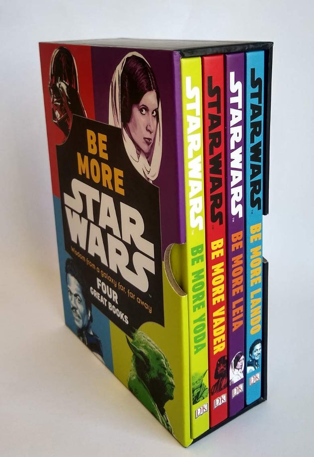 Star Wars Be More Box Set: Wisdom from the Galaxy Far Far Away (Four Great Books)