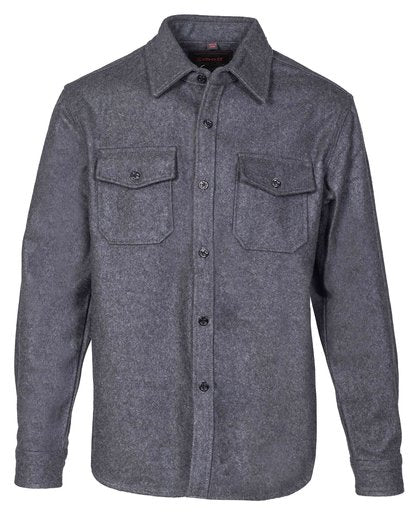 CPO Wool Shirt - Grey