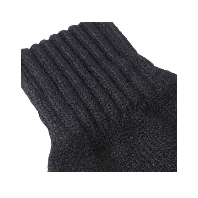 Lambswool Gloves - Black