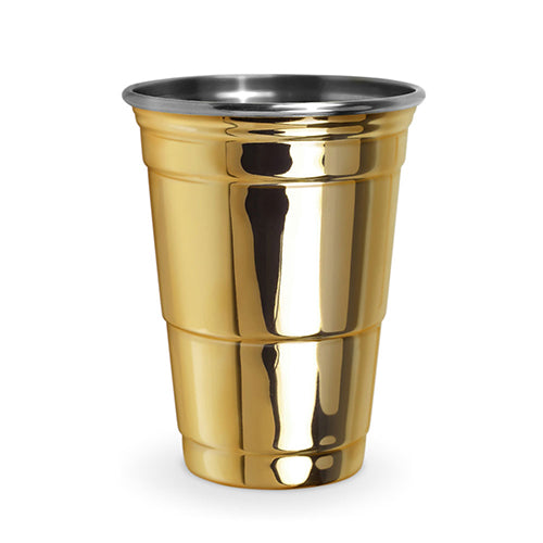 Party Cup, Set of 2- Gold