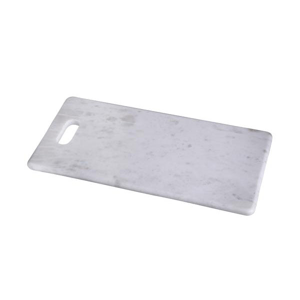 Cheese Board w Handle- White Marble