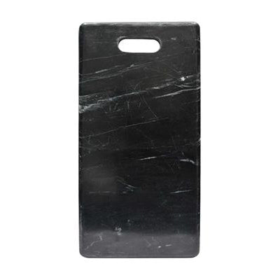 Cheese Board w Handle - Black Marble
