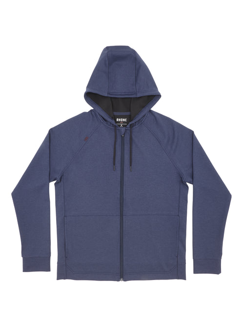 Spar Full Zip Hoodie - Navy Heather