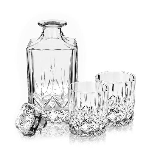 Admiral 3 piece Decanter & Tumbler Set