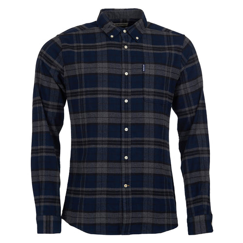 Highland Check 19 Tailored Fit - Grey Marl