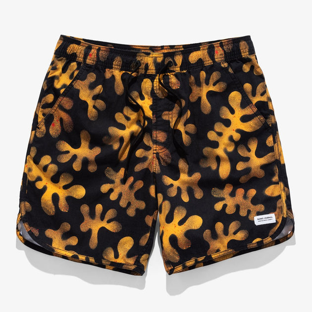 Barrier Elastic Boardshort - Dirty Black