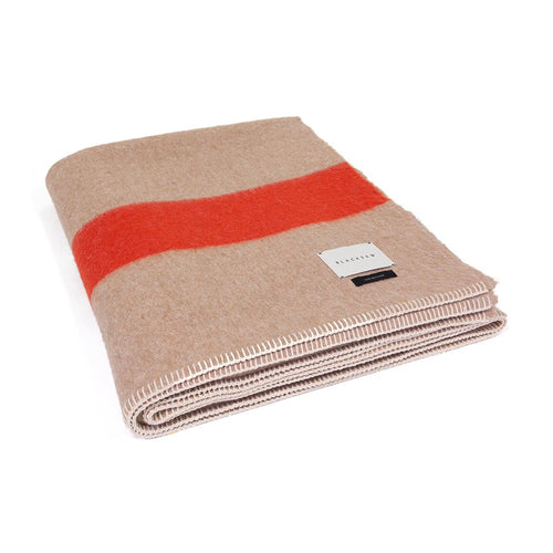 The Siempre Recycled Blanket - Sand Stripe