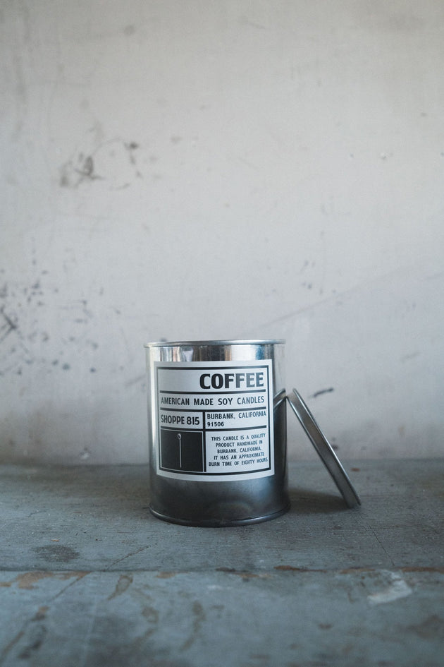 Shoppe 815 Candle - Coffee