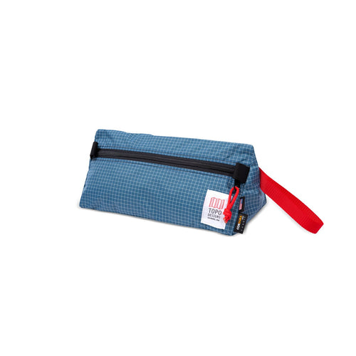 Topo Dopp Kit - Blue/White Ripstopl