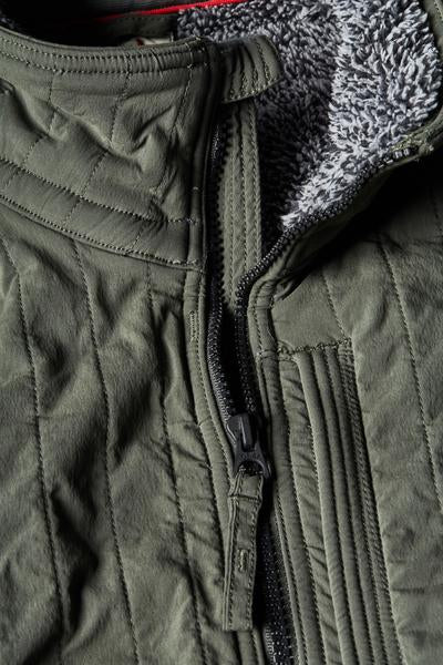 Vertical Insulator Jacket - Olive