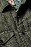 Brushed Flannel CPO - Dark Loden Twil