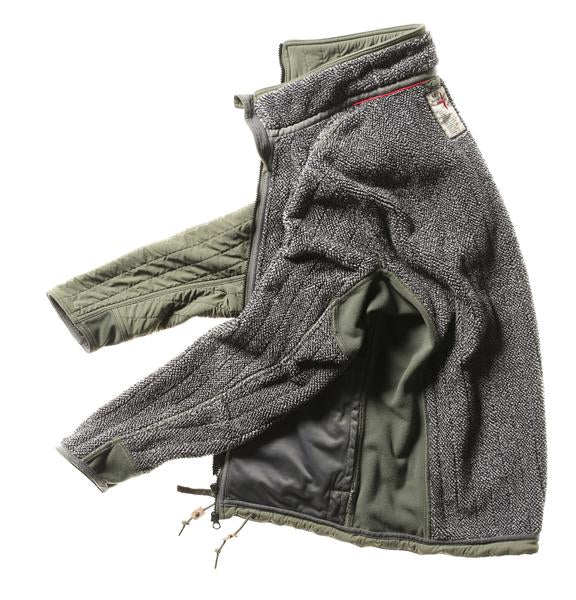 Vertical Insulator Jacket - Bright Olive