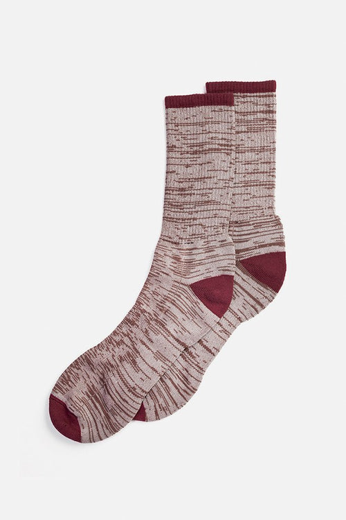 Cotton Marl Sock - Oatmeal