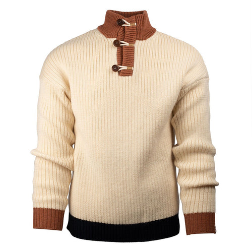 Heroes Polo Neck - Natural