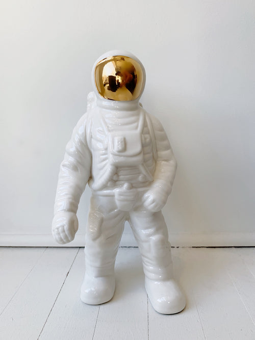 Ceramic Astronaut, Large - White