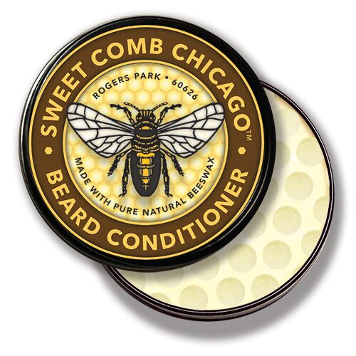 Beeswax Beard Conditioner, 4 oz.