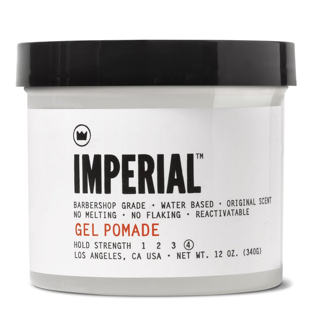 Gel Pomade, 12oz.
