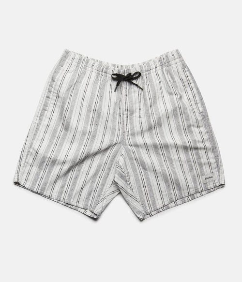 Cabana Shorts - Black and White Print