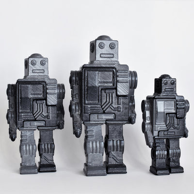 3D Art Object & Puzzle - Robot
