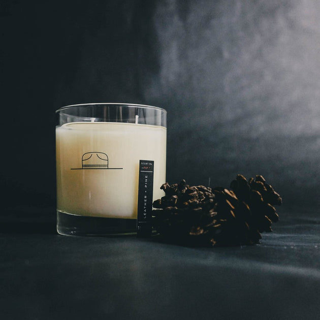 Ranger Station Candle - Leather + Pine