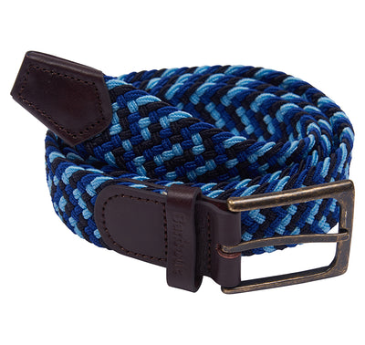 Barbour Ford Woven Belt - Blue