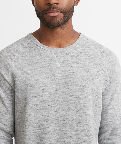 Sherpa Crew Pullover - Heather Grey