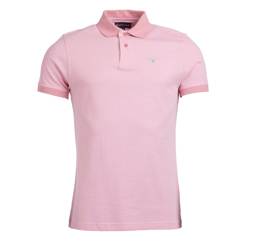 Barbour Sports Polo - Dusty Pink