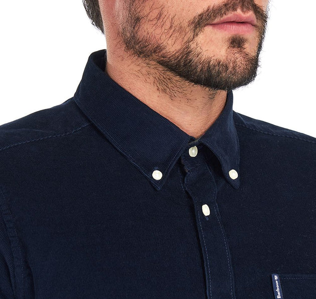 Barbour Cord 2 Tailored Shirt - Navy