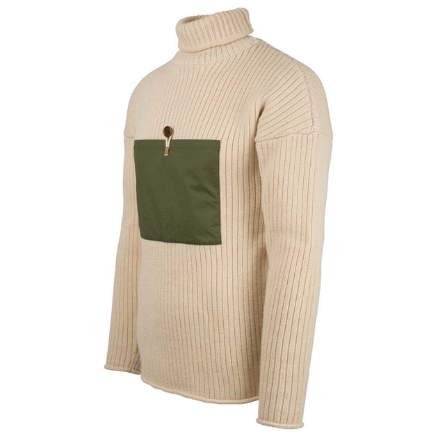 Heroes Turtle Neck - Natural