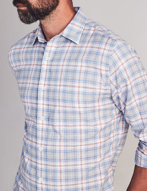 Everyday Button Up - Marlin Coast Plaid